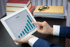 Begrepp för möte för affärskonferens, mål, framgång Arkivbilder