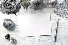 Begrepp för modell för vinterferier Royaltyfri Bild