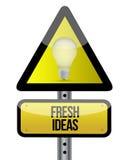 Begrepp för nya idéer Arkivbild