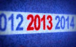 Begrepp för nytt år vektor illustrationer