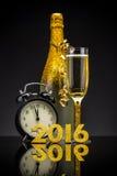 Begrepp för nytt år 2016 royaltyfria foton
