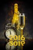 Begrepp för nytt år 2016 royaltyfri foto