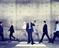 Begrepp för organisation för egenart för affärsman modernt arkivbild