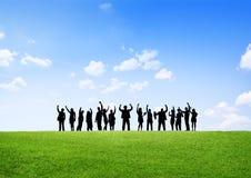 Begrepp för partnerskap för ockupation för affärssamarbetskollega fotografering för bildbyråer