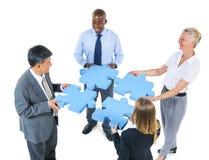 Begrepp för partnerskap för service för teamwork för folk för företags affär Arkivfoton