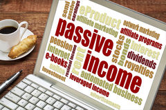 Begrepp för passiv inkomst royaltyfri bild