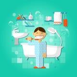 Begrepp för personlig hygien vektor illustrationer