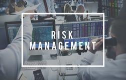 Begrepp för PLUGGHÄST för tillfälle för prognos för riskledning Arkivbilder