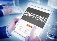 Begrepp för prestation för kunnighet för kompetensexpertiskapacitet arkivbild