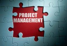Begrepp för projektledning arkivbild