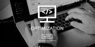Begrepp för sakkunskap för kapacitet för Optimizationkapacitetsexpertis Arkivbilder
