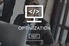 Begrepp för sakkunskap för kapacitet för Optimizationkapacitetsexpertis Royaltyfria Bilder