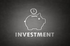 Begrepp för spargrisinvestering stock illustrationer