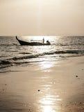 Begrepp för ställen för strandsommar sceniskt Arkivbild