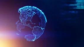 Begrepp för strategi för global affär arkivbild