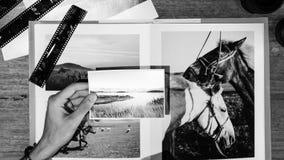 Begrepp för studio för design för ockupation för fotografiidéer idérikt arkivbild