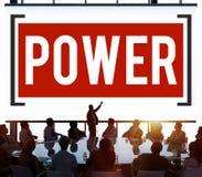 Begrepp för talang för sakkunskap för maktkapacitetsexpertis stock illustrationer