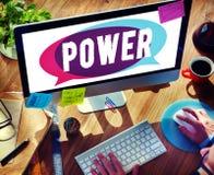 Begrepp för talang för sakkunskap för maktkapacitetsexpertis royaltyfria bilder