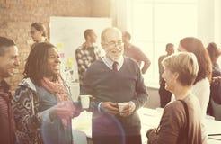 Begrepp för teamwork för organisation för affärskorporation royaltyfria bilder