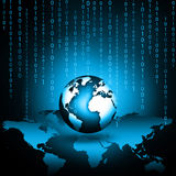 Begrepp för television- och internetproduktionteknologi Arkivfoto