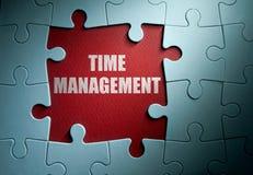 Begrepp för Tid ledning arkivbild
