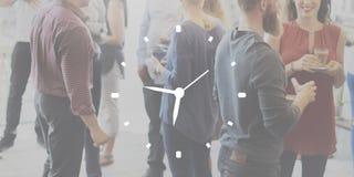 Begrepp för timme för klockavaraktighetsTid fritid royaltyfria bilder