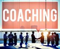 Begrepp för utbildning för lagledareCoaching Skills Teach undervisning royaltyfria foton