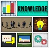 Begrepp för utbildning för sakkunskap för kunskapsintelligenssnille Fotografering för Bildbyråer