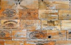 Begrepp för vinbransch Arkivbilder