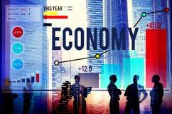 Begrepp för vinst för pengar för investering för ekonomibankrörelsefinans Arkivfoton