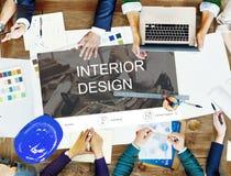 Begrepp för Website för design för renoveringreparationskonstruktion Royaltyfri Fotografi