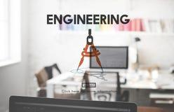 Begrepp för yrkesmässig sakkunskap för teknikockupation idérikt Royaltyfri Bild