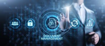 Begrepp f?r teknologi f?r aff?r f?r ledning f?r dokumentledningsystem digitalt h?gert arkivfoto