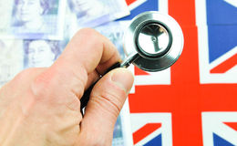 Begrepp för brittiskt pund Arkivbilder