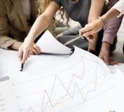 Begrepp för granskning för granskning för affärsåterkopplingsresultat Royaltyfri Foto