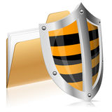 Begrepp för säkerhetsdatordata Arkivfoton