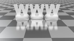 begrepp isolerade vita www Arkivbild