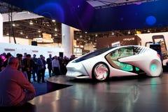 Begrepp-JAg för Toyota begreppsbil Arkivfoton