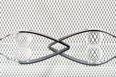 Begrepp med gaffeln på fantasibakgrund XV royaltyfri fotografi