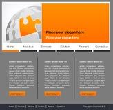 Begrepp och design för websitesida Royaltyfri Bild