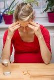 Begrepp: sjukdom under havandeskapet Arkivbilder