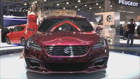 Begrepp Suzuki Ciaz stock video