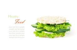 Begreppet av en sund mat, bantar och att förlora vikt som är vegeterian Royaltyfri Bild