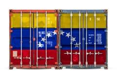 Begreppet av export-importen och nationell leverans av gods royaltyfria bilder