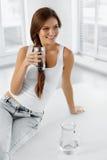 begreppet bantar hälsa 04 som cirkulerar äta som är sunt H Royaltyfri Bild