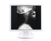 begreppet diagnostiserar den moderna läkarundersökningen Royaltyfria Bilder
