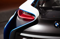 begreppet för bakbmw-bilen details vision Royaltyfri Fotografi