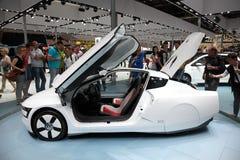Begreppsbil för VW XL1 Arkivfoto