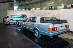 Begreppsbilen Mercedes-Benz Auto 2000, 1981 Arkivbilder