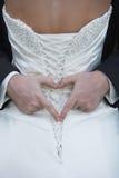 begreppsbröllop Royaltyfria Bilder